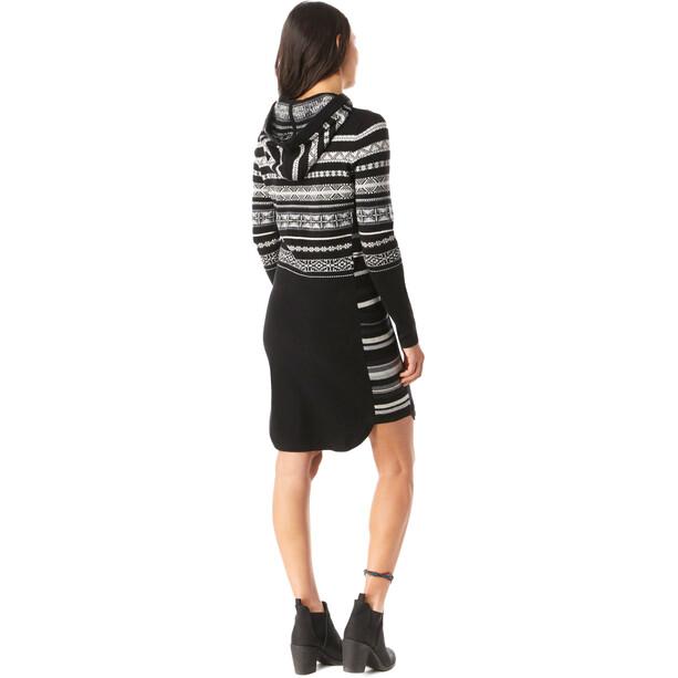 Smartwool Alpine Lodge Pattern Kleid Damen schwarz/weiß