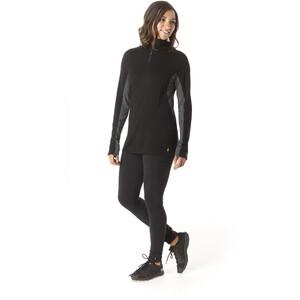 Smartwool Merino Sport 250 1/4 Zip Langarmshirt Damen black black