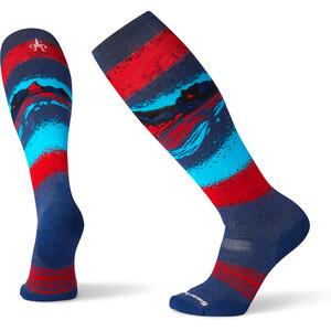 Smartwool PhD Snow Medium Socken alpine blue alpine blue