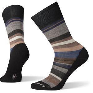 Smartwool Everyday Saturnsphere Crew-Socken Herren schwarz/blau schwarz/blau
