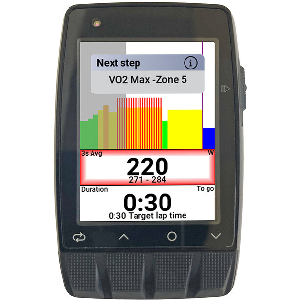 Stages Cycling Dash M50 GPS Cycling Computer black