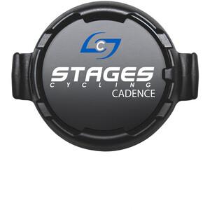 Stages Cycling Dash Nopeusanturi, musta musta