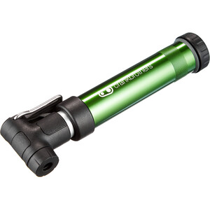 Crankbrothers Gem S Handpumpe inkl. Rahmenhalter green green