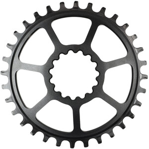e*thirteen Ultraライト Guidering Chainring Boost 5mm Offset ブラック