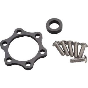 Problem Solvers Booster Spacer Kit für Hinterradnaben 10mm silver/black silver/black
