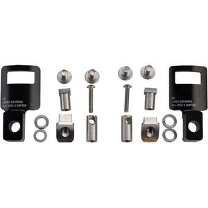 Problem Solvers ReMatch 1.2 Adaptateur Shimano I-Spec II Shifter/I-Spec A-B Brake 1 paire, noir noir