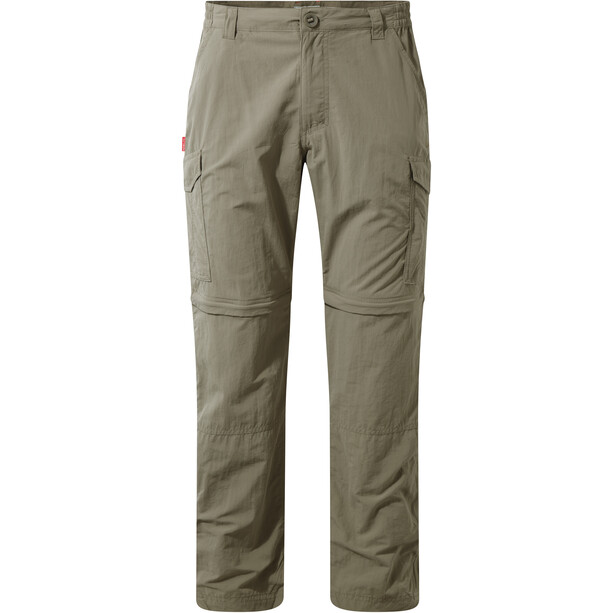 Craghoppers NosiLife Convertible Trousers Herr pebble