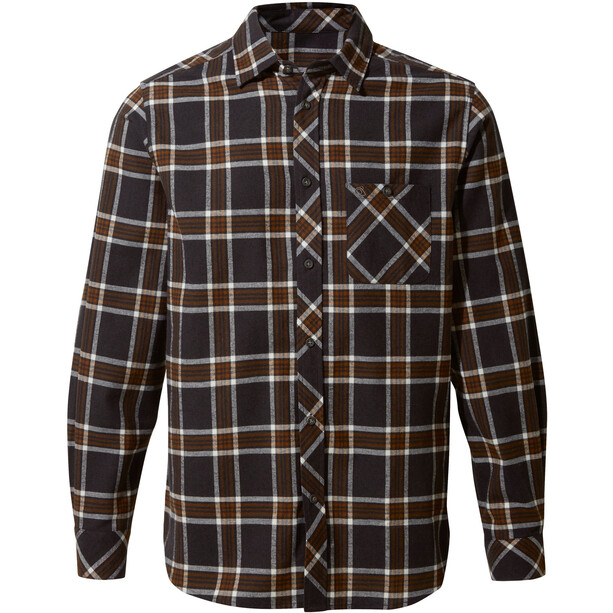 Craghoppers Cogwheel Long Sleeved Shirt Herr Ibex brown check