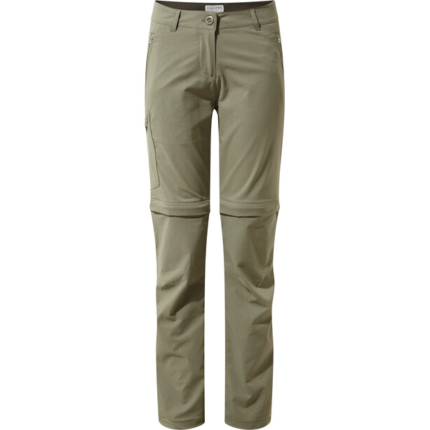Craghoppers NosiLife Pro II Convertible Trousers Dam soft moss