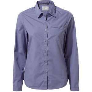 Craghoppers Kiwi Long Sleeved Shirt Dam china blue china blue