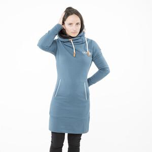 ABK Gaun Kapuzenkleid Damen blue grey blue grey