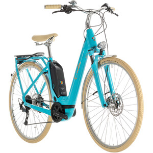 Cube Elly Ride Hybrid 500 2. Wahl Women aqua'n'orange aqua'n'orange
