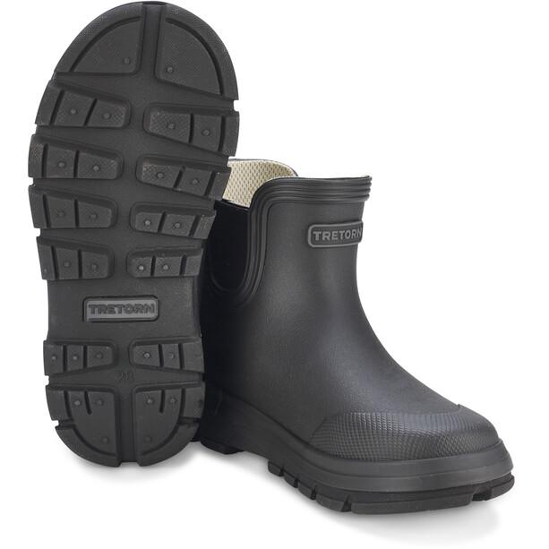 Tretorn Aktiv Chelsea Rubber Boots Barn black