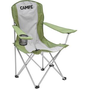 CAMPZ Chaise pliante, olive/gris olive/gris