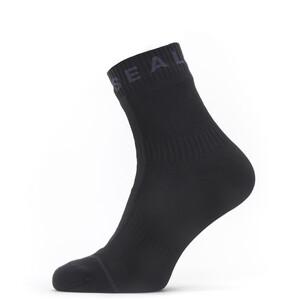 Sealskinz Waterproof All Weather Socken Knöchelhoch schwarz schwarz