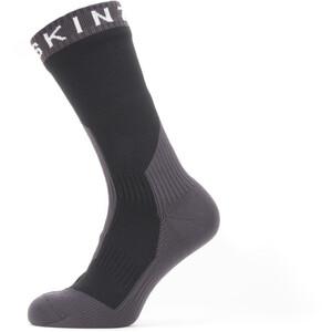 Sealskinz Waterproof Extreme Cold Weather Mid Socken grau/schwarz grau/schwarz