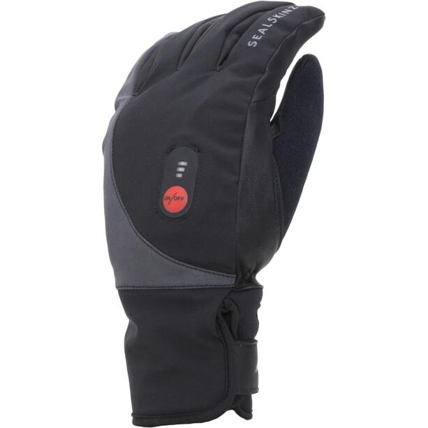 Sealskinz Waterproof Beheizte Fahrradhandschuhe black