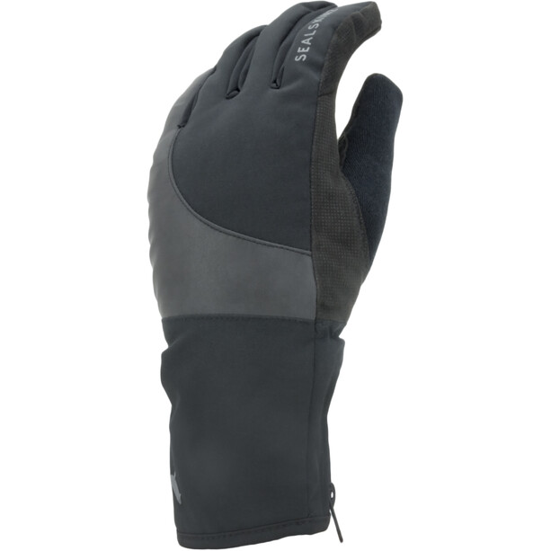 Sealskinz Waterproof Cold Weather Reflektierende Fahrradhandschuhe black