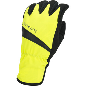 Sealskinz Waterproof All Weather Fahrradhandschuhe neon yellow/black neon yellow/black