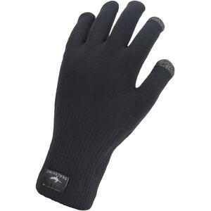 Sealskinz Waterproof All Weather Ultra Grip Strickhandschuhe black black