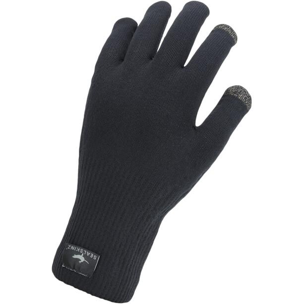 Sealskinz Waterproof All Weather Ultra Grip Strickhandschuhe black