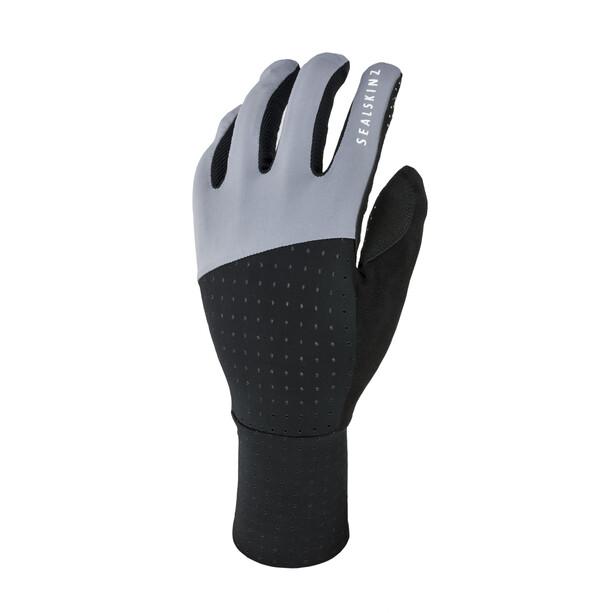 Sealskinz Solo Super Thin Fahrradhandschuhe black/grey
