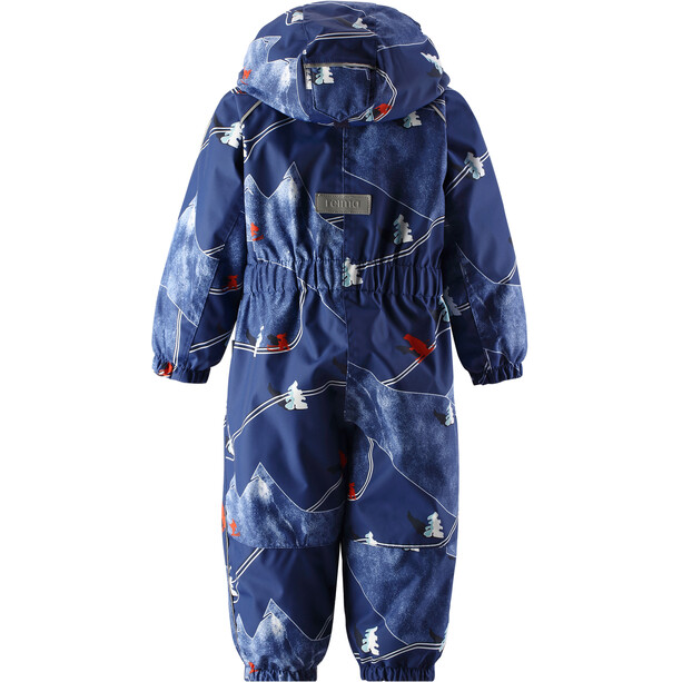 Reima Luosto Reimatec Winter Overall Barn Jeans Blue