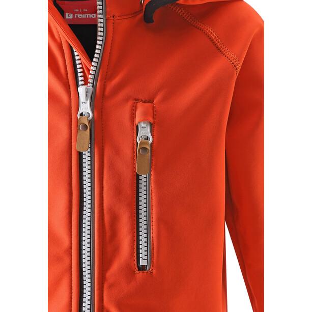 Reima Vantti Softshell Jacket Barn Orange
