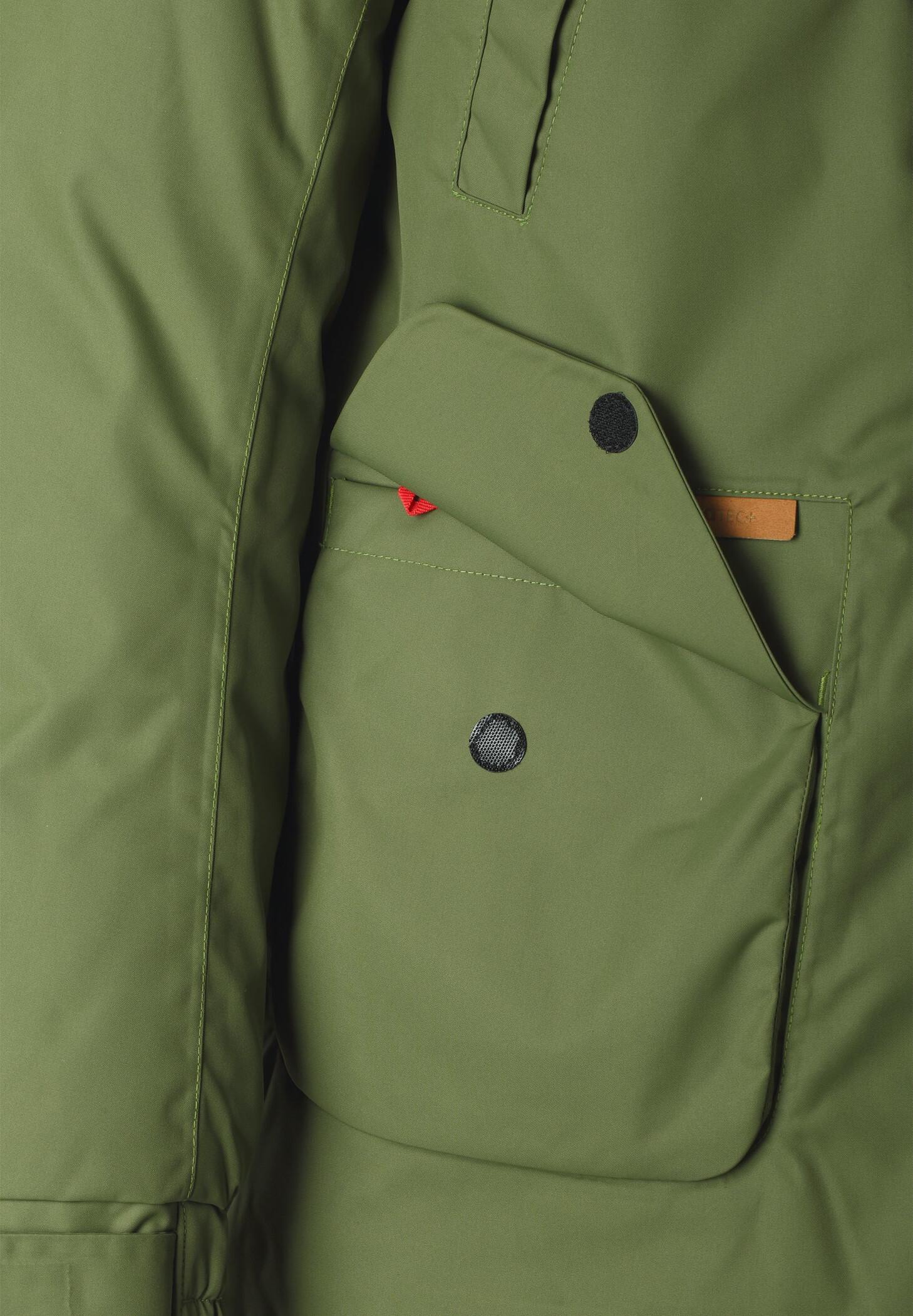 Reima Serkku Reimatec Down Jacket Ungdomar Khaki Green