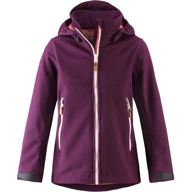 Reima Vandra Softshell Jacket Flickor Deep Purple
