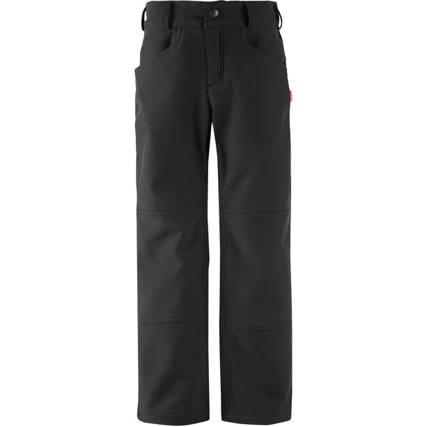 Reima Mighty Softshell Pants Barn Black