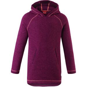 Reima Wapusk Fleece Tunic Flickor Deep Purple Deep Purple