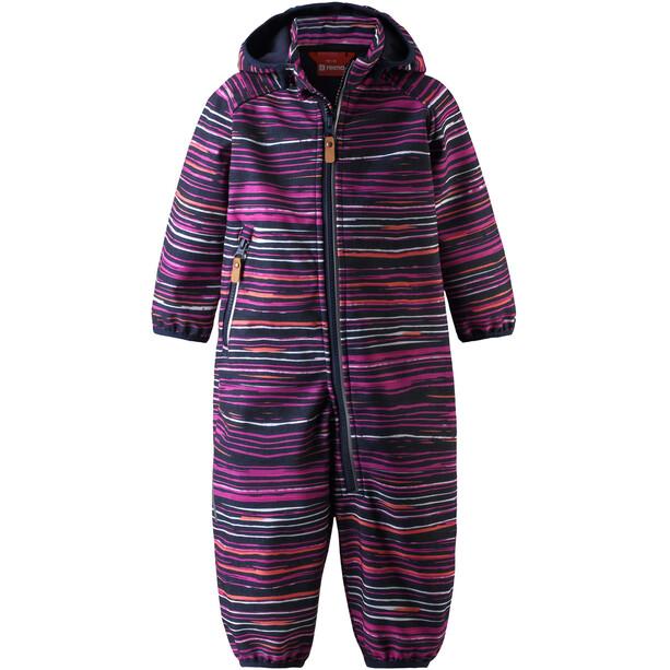 Reima Kotilo Softshell Overall Kinder deep purple