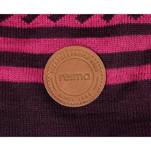 Reima Leimu Beanie Kinder deep purple