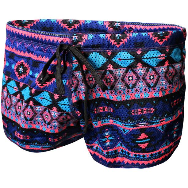 Zone3 Aztec Drag Shorts navy/blue/pink