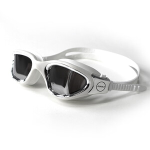 Zone3 Vapour Lunettes de natation Polarized, polarized lens-white/silver polarized lens-white/silver