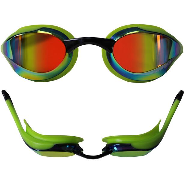 Zone3 Volaire Streamline Racing Brille mirror lens-green/black