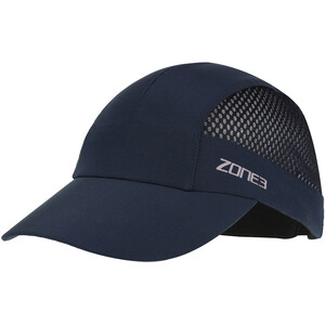 Zone3 Lightweight Mesh Running Baseballkappe petrol/reflective silver petrol/reflective silver