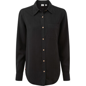 tentree Fernie Button-Up LS Shirt Dam Meteorite Black Meteorite Black