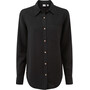 tentree Fernie Button-Up LS Shirt Dam Meteorite Black
