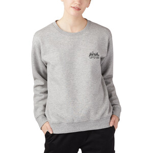 tentree LS Crew Shirt Dam Hi-Rise Grey Heather Hi-Rise Grey Heather