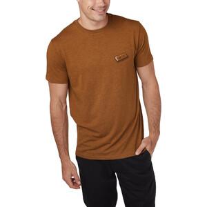 tentree Forest Mix Kurzarm T-Shirt Herren rubber brown heather rubber brown heather