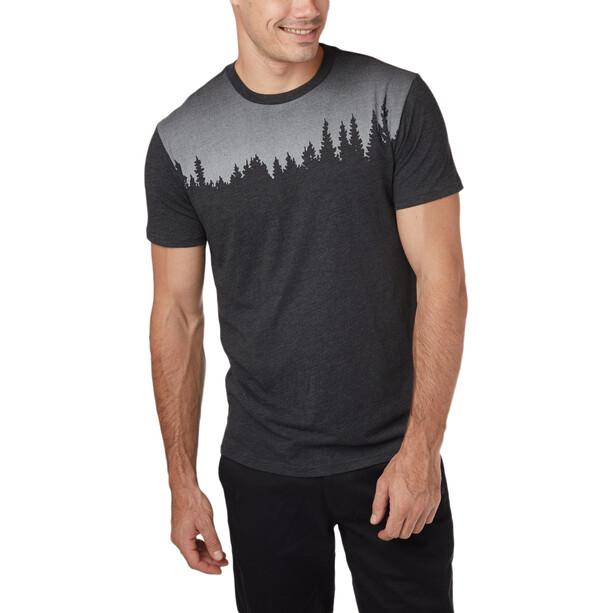 tentree Juniper Kurzarm T-Shirt Herren schwarz