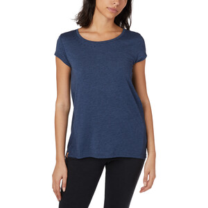 tentree Timberline Kurzarm T-Shirt Damen dark ocean blue heather dark ocean blue heather