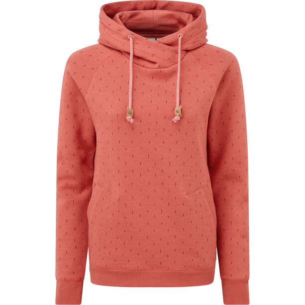 tentree Burney Hoodie Damen mineral red/small tree AOP