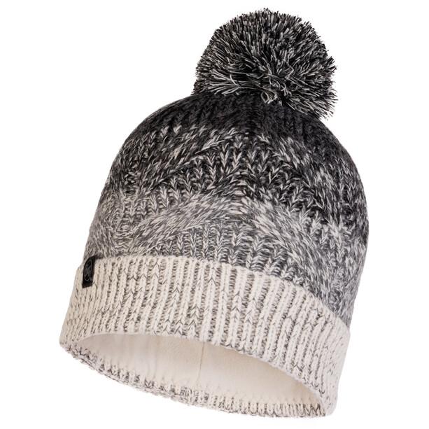 Buff Masha Knitted & Fleece Band Hat Men, harmaa