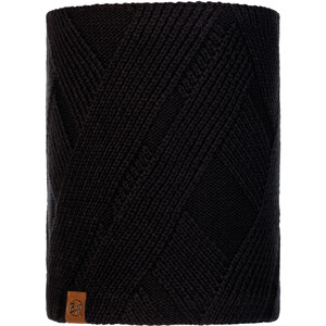 Buff Raisa Knitted & Fleece Neckwarmer Women, musta musta