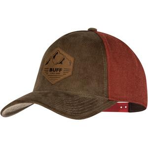 Buff Snapback, bruin/rood bruin/rood