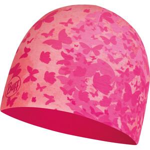 Buff Bonnet en microfibre et polaire Enfant, rose/Multicolore rose/Multicolore