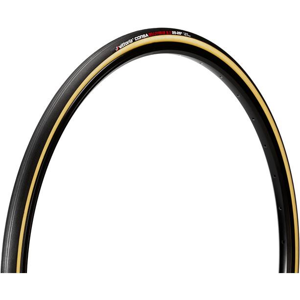 Vittoria Corsa Schlauchreifen 700x25c schwarz/beige
